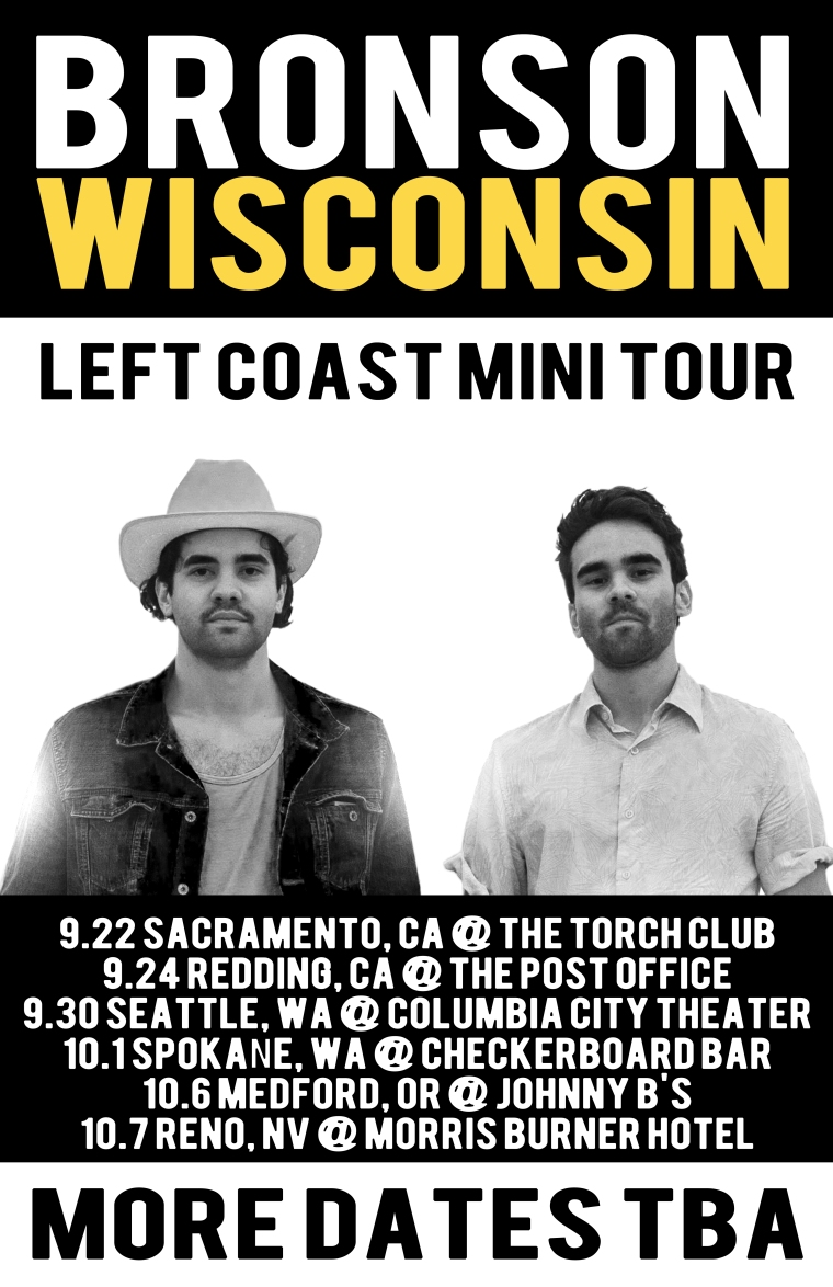 BW left coast mini tour POSTER